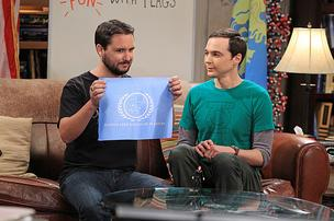 Will Wheaton and Jim Parsons in