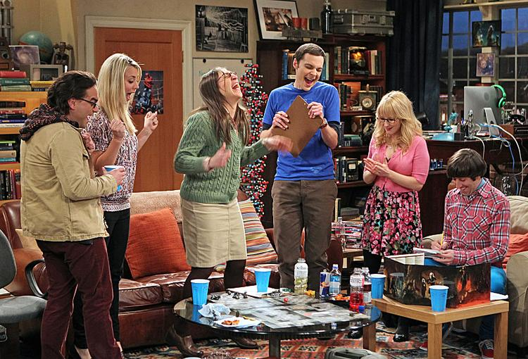 """The top-rated show of the week, """"The Big Bang Theory"""" drove CBS to another ratings win last week."""