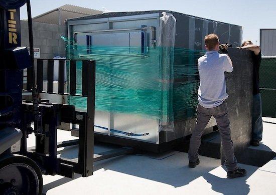 A Bloom Energy server.