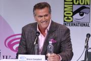 """Evil Dead"" producer Bruce Campbell had the WonderCon audience eating out of his hand."