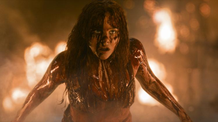 """Screen Gems remake of """"Carrie"""" is the only horror film haunting theaters this month."""