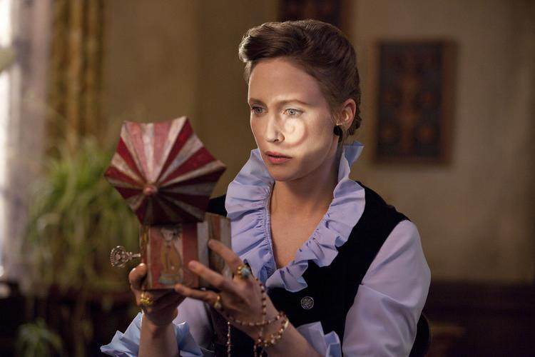 "The $20 million ""Conjuring"" could take the top spot at the box office this weekend with $30 million or more."