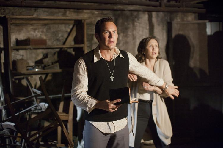 """The $20 million """"Conjuring"""" bowed to an estimated $41 million this weekend, setting a new record for an original R-rated horror flick."""
