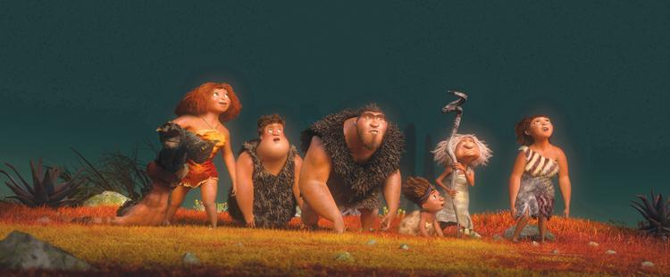 """""""The Croods"""" will likely take the top spot away from """"Oz the Great and Powerful"""" with $40 million or more at the box officethis weekend."""