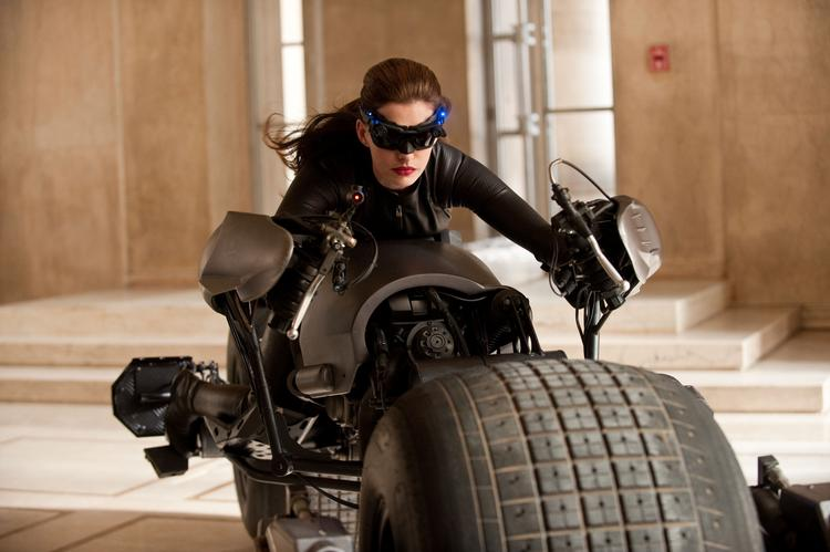 """A month into its home-video release, """"The Dark Knight Rises"""" topped the overall disc sales, Blu-ray disc sales and rental charts during the final week of 2012."""
