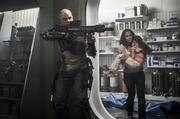 """""""Elysium"""" (August 9): With just $30 million, Neil Blomkamp directed his sci-fi """"District 9"""" to $115.6 million and an Oscar nod in 2009. Now the wunderkind has $70 million more to work with as well as Matt Damon and Jodie Foster starring in his futuristic actioner set in 2154, when the very wealthy live on a pristine space station while everyone else is relegated to an overpopulated, ruined Earth. On the heels of the similarly themed """"Oblivion,"""" """"After Earth"""" and """"Pacific Rim,"""" """"Elysium"""" should eke past """"District 9"""" at the box office. Watch the trailer."""