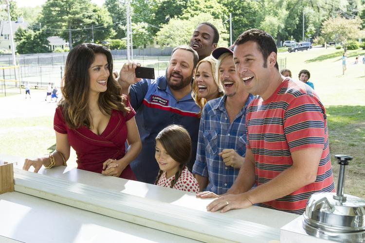 """""""Grown Ups 2"""" was a close second to holdover """"Despicable Me 2"""" with an estimated $44.8 million at the box office this weekend."""