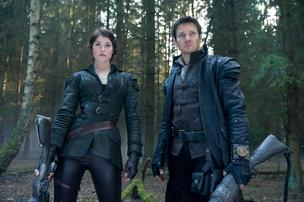 Gemma Arterton and Jeremy Renner in