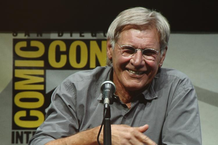 The crowd at Comic-Con hung on every carefully chosen, deliberately  delivered word uttered by geek icon Harrison Ford, aka Han Solo and  Indiana Jones.