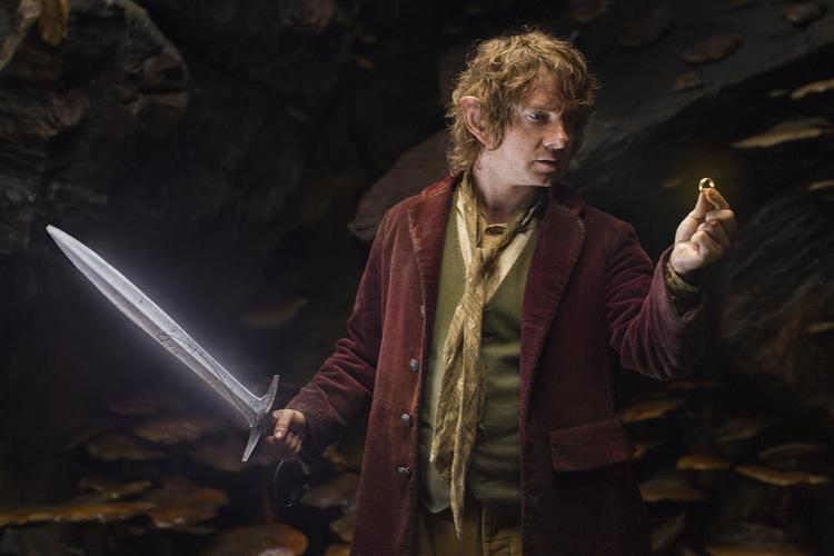 """""""The Hobbit: An Unexpected Journey"""" grossed an estimated $84.8 million—the best three-day December opening ever, including holiday weekends."""