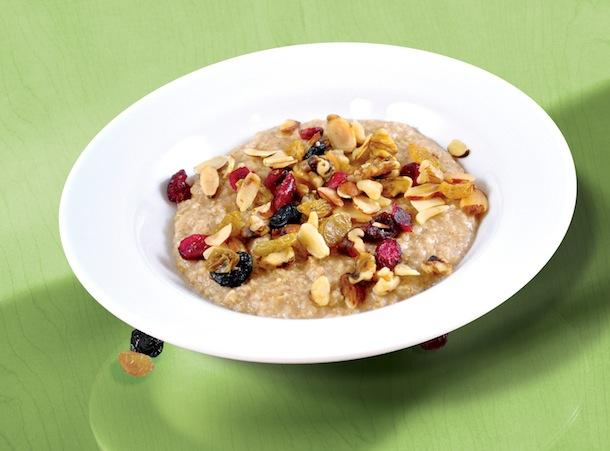 Super Fruit Oatmeal with Almonds and Walnuts is one of the new oatmeal dishes being offered by IHOP through its partnership with Quaker Oats.