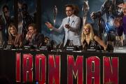 """The cast and crew of """"Iron Man 3"""" greeted the London press on the world tour for the superhero flick."""