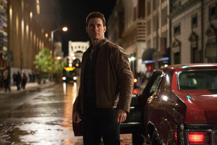 """Tom Cruise stars as """"Jack Reacher,"""" launching in 3,352 theaters on Friday."""