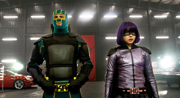 """Kick-Ass 2"" is in a tight race with ""The Butler"" for first place at the  box office, with both films tracking in the $20 million range."
