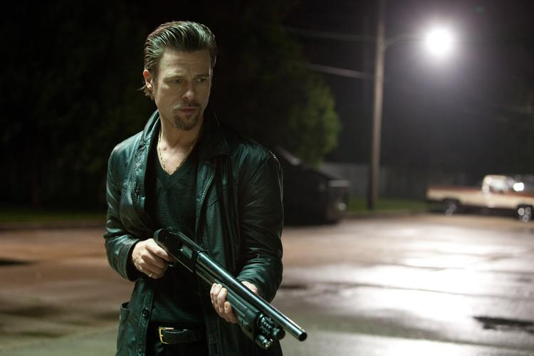"""Brad Pitt stars in """"Killing Them Softly,"""" one of just two new wide releases this weekend that will be beaten handily by Thanksgiving leftovers."""