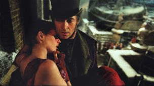 Anne Hathway and Hugh Jackman in