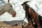 """""""The Lone Ranger"""" (July 3): The creative team behind  the """"Pirates of the Caribbean"""" movies reunite to bring the classic  Western duo of radio, television and film serials into the 21st century.  With Johnny Depp starring as Native American warrior Tonto and Armie  Hammer as masked lawman John Reid, the hero-sidekick model is set  slightly askew, wouldn't you say? Long delayed and notoriously  troubled, with production even halting over budget concerns, Disney's  $225 million action-adventure is directed by """"Pirates'"""" Gore Verbinski  and produced by Jerry Bruckheimer. Industry observers think it'll make  in the $130 million-plus range. Watch the trailer."""