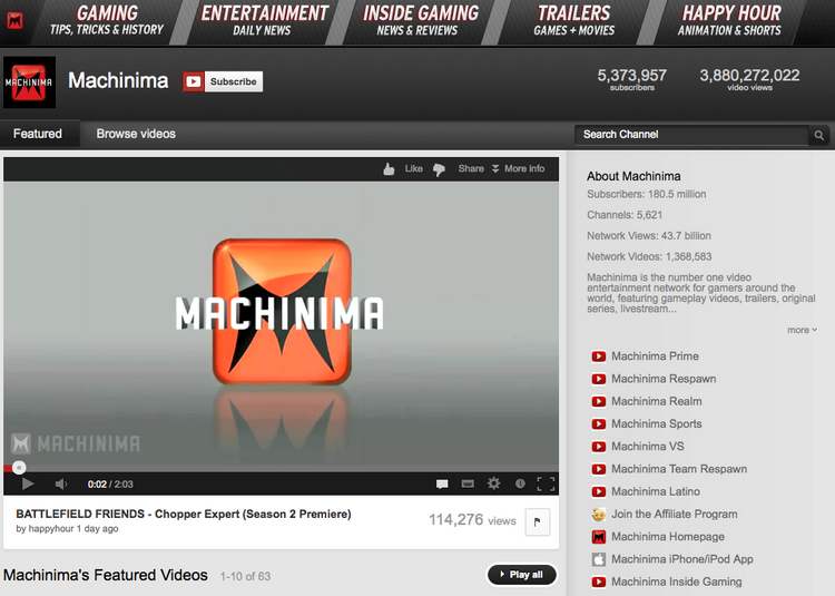 Machinima is once again laying off members of its workforce.