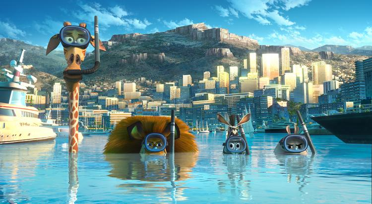 """""""Madagascar 3: Europe's Most Wanted"""" debuted in first on both the overall disc and Blu-ray sales charts."""