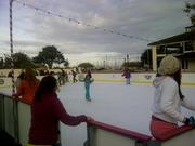 The Portola also has an ice rink where you can skate or even play a game of hockey.