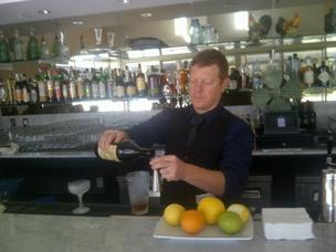Bar Manager John Coltharp applies Muddy Leek's farm-to-table spirit through signature hand-crafted cocktails using house-made bitters and micro-seasonal ingredients.