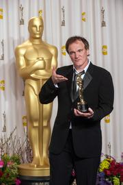 "The script for ""Django Unchained"" earned Quentin Tarantino his second writing Oscar."