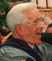 Robert Schuller, founder of the Crystal Cathedral in Garden Grove.