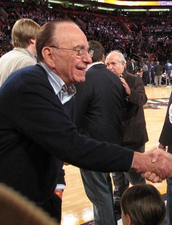 Rupert Murdoch will be chairman of the publishing company and continue as chairman and CEO of Fox Group.