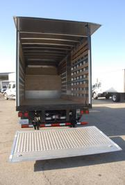The lift gates on Ryder's new studio trucks are longer, wider and easier to use.