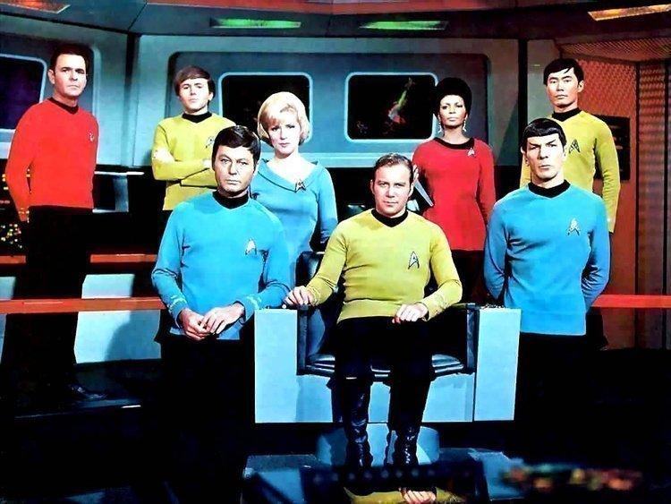 The original Star Trek crew