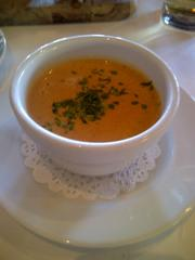 The namesake sundried tomato soup.