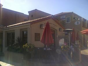 The Sundried Tomato Café in San Juan Capistrano                is situated a stone's throw from the train station.