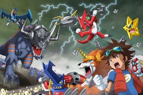 Saban buys Digimon anime brand - L A  Biz