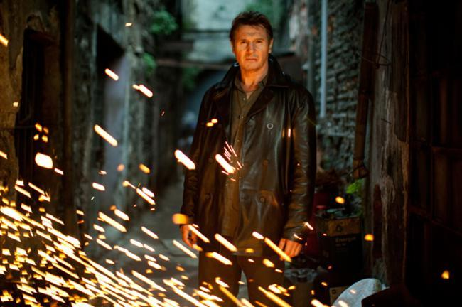 "Liam Neeson was back in action this weekend in ""Taken 2,"" which grossed  an estimated $50 million at the domestic box office and $105 million  total worldwide."