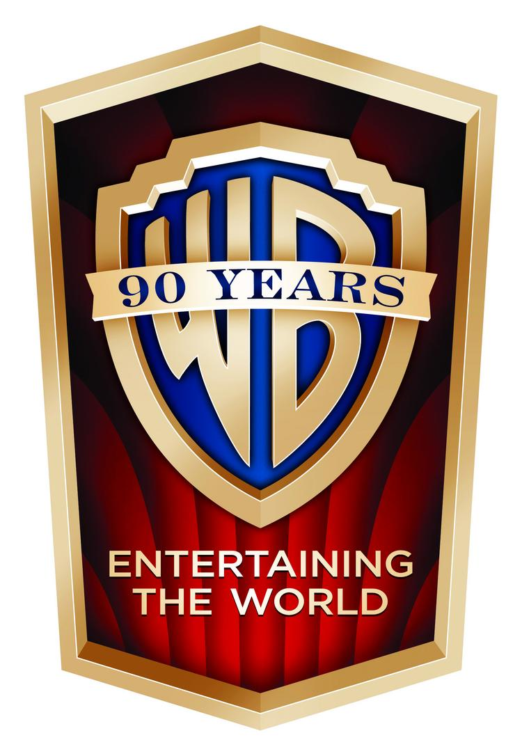 Warner Bros. kicked off its 90th anniversary celebration by unveiling a new logo.