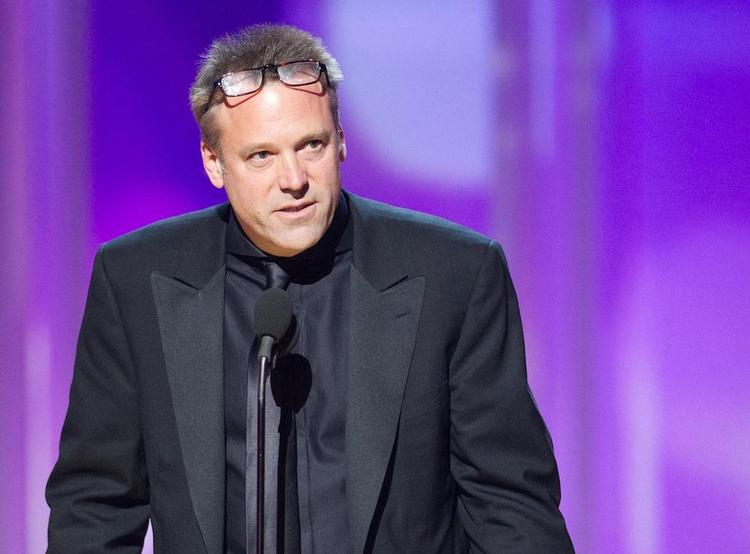 """Wally Pfister accepts the Academy Award for Achievement in Cinematography for work on """"Inception"""" during the 83rd Annual Academy Awards."""