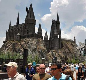 It's not official, but many theme park fan sites feel the Hogwart's Express is being built at Universal Studios Orlando.