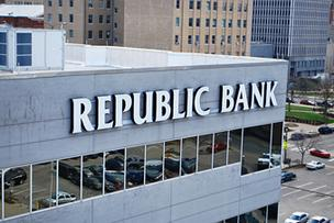 Liberty Tax Service has notified Republic Bank & Trust Co. that it plans to terminate its agreement with Republic related to Republic's electronic income tax refund check and electronic income tax refund deposit products.
