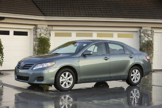 Demand for the Camry, which is made in Georgetown, Ky., helped fuel Toyota's sales gains.