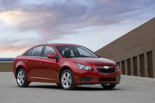 Sales of the Chevrolet Cruze fell by 39 percent in July.