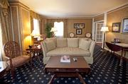 A large sitting area is included in the Muhammad Ali Suite.