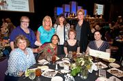 A group of guests at LG&E Energy's table posed during the Tribute to Working Women luncheon.