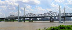 Downtown Louisville Bridge