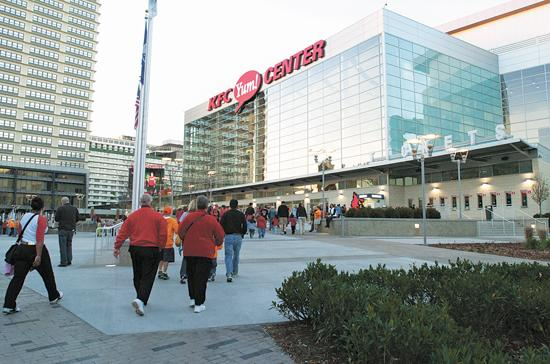 As part of the agreement, AEG Facilities' Dennis Petrullo has been named general manager of the Yum Center.