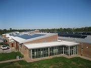 CMTA also worked on Locust Trace Agriscience Farm in Lexington, Ky. The photo shows the school's photovoltaic system and the solar thermal system. For more details,