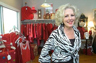 Margaret Browning, owner of Margaret's Consignment, is among the area businesspeople offering deals this Valentine's Day.