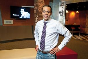 Donald Lassere, president and CEO of the Muhammad Ali Center, took the reins at the center in the spring.