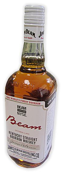 Beam Inc. is the parent company of Jim Beam and Maker's Mark bourbon brands.