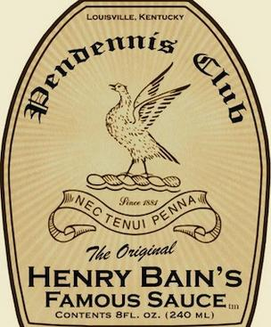 Henry Bain's sauce was created at The Pendennis Club in Louisville.