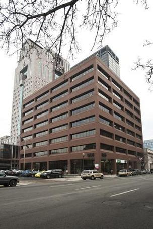 Humana will vacate The 515 Building on West Market Street. It has leased all of the 120,000-square-foot building with the exception of space occupied by a Park Community Federal Credit Union branch.